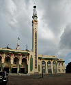 The Great Faisal Mosque in Conakry, one of the...