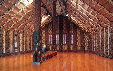 A Meeting House containing many styles of Maori...