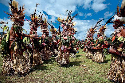 A sing-sing at Wabag, Enga Province, Papua New...
