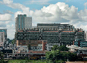The Eastgate Centre in Harare, opened in 1996,...