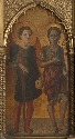 Saints Michael and John the Baptist: Main Tier Left Panel