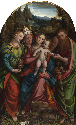 The Madonna and Child with Saint Mary Magdalene, Saint Gregory, Saint Joseph (?) and Saint Paul