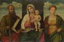 The Virgin and Child with Saint Paul and a Female Martyr