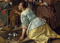 Jan Steen, The Effects of Intemperance, about...