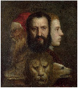 26. Titian and workshop, An Allegory of Prudence,...