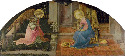 42. Fra Filippo Lippi, The Annunciation, about...