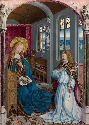 43. Master of Liesborn, The Annunciation,...
