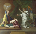 45. Nicolas Poussin, The Annunciation, 1657....