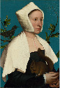 27. Hans Holbein the Younger, A Lady with a...