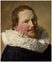 49. Frans Hals, Portrait of a Man in his...