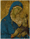 13. Duccio, Triptych: The Virgin and Child with...