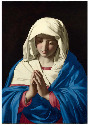19. Sassoferrato, The Virgin in Prayer, 1640–50,...