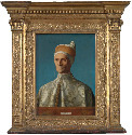 35. Venetian frame, about 1500, probably for a...