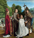 9. Gerard David, Canon Bernardijn Salviati and...