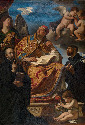 17. Guercino, Saint Gregory the Great with Saints...
