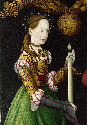 10. Lucas Cranach the Elder, Saints Genevieve and...