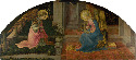22. Fra Filippo Lippi, The Annunciation, about...