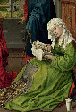 39. Rogier van der Weyden, The Magdalen Reading,...