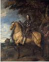 31. Anthony van Dyck, Equestrian Portrait of...
