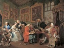 William Hogarth, Marriage A-la-Mode: I, the...