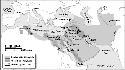 Map 8.1. 'Abbasid Caliphate Though the 'Abbasid...
