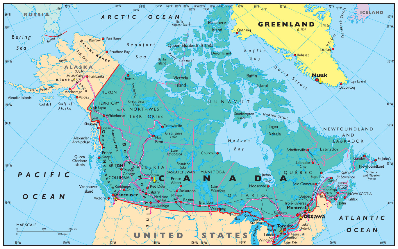 Map Of Canada History.Geography Canadian Society And History Libguides At Credo Reference