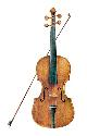 Late 17th-century violin. The violin was...