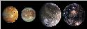 Galilean satellites Images from the Galileo...