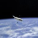 Hubble Space Telescope Launched in 1990, the...