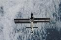 International Space Station Seen from theh pace...