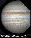 Jupiter Three white oval storms (lower centre)...
