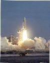 Space shuttleColumbia was first launched on 1981...