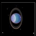 Uranus This false-colour image was generated from...