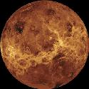 Venus Centred on longitude 180°, this is a...