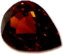 Pendeloque-cut spessartine gem