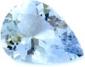 Pendeloque cut aquamarine gem