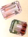 Tourmalines can be made up of two or more...