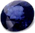 treated blue sapphire, brilliant-cut