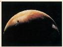 Mars at crescent phase, a sight never seen from...