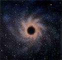 Impression of a black hole (Paul Doherty)....