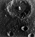 Brahms is a large crater north of the Caloris...