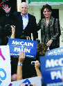 John McCain was the first Republican presidential...