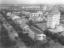 Leopoldville (Kinshasa), 1955; the capital of the...