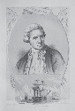 Vintage print depicting Captain James Cook's...