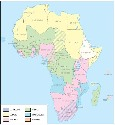Africa: official languages of...