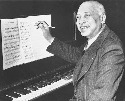 W. C. Handy, C. 1940s; the sheet music on the...