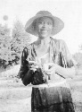 Zora Neale Hurston in Florida, 1935. (Library of...