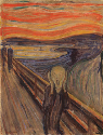 Edvard Munch, The Scream, 1893. Oil, tempera, and...