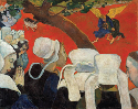 Paul Gauguin, The Vision After the Sermon: Jacob...