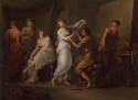 Angelica Kauffmann, Zeuxis Selecting Models for...
